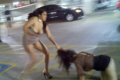 Titties girl fight