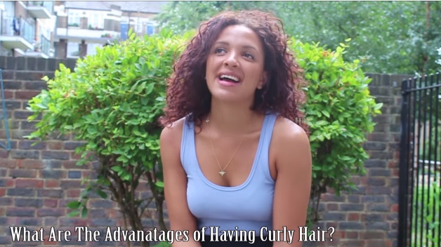 Curly light skinned girl agree, this