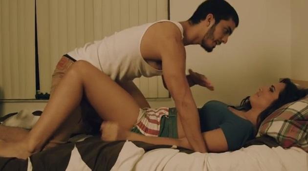 Girl having sex on period video